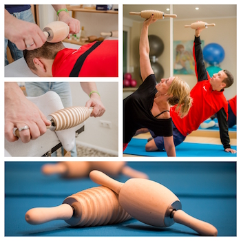 RollArt® for physiotherapy and training